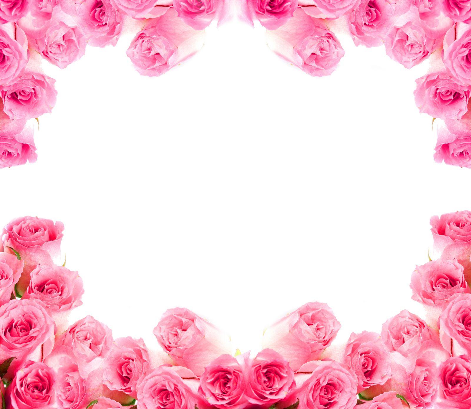 Открытки с розами по краям, для